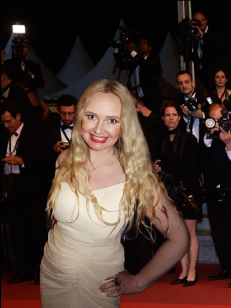 Festival de Cannes actress Elena Khlibko