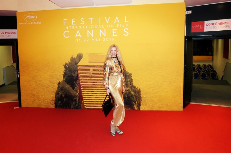 Festival de Cannes actress Elena Khlibko red carpet