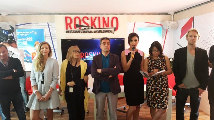 Roskino Russian pavilion opening Festival de Cannes