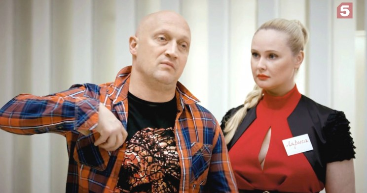 Гоша Куценко и Елена Хлибко, актёры сериала Последний мент